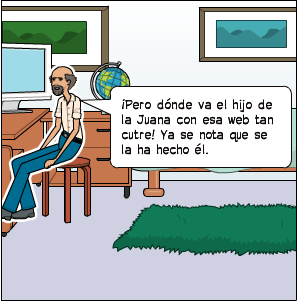 Comic de Abundio sobre Por qué tu negocio necesita tener una web