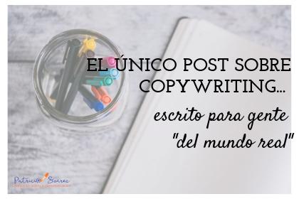 Copywriting offline Patricia Suárez