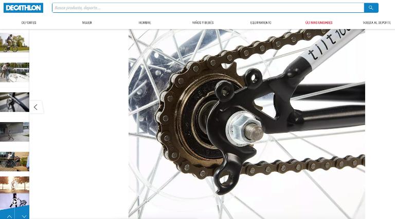 Ficha de producto ejemplo de imagenes