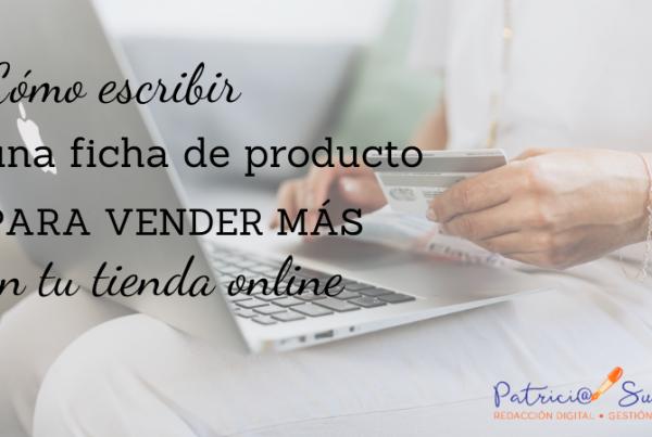 Fichas de producto Patricia Suárez